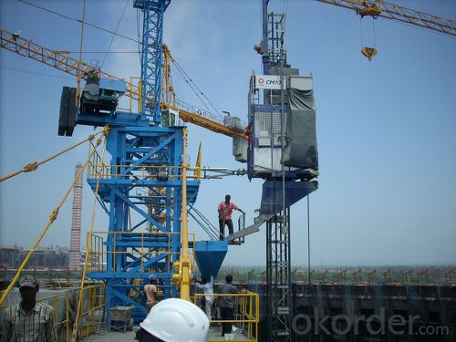Construction Hoist SCD320 Counterweight Elevator
