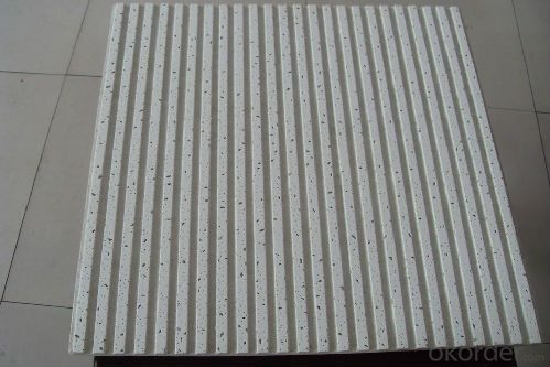 Mienral Fiber Ceiling Tiles in China