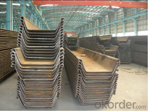 Steel Sheet Pile with High Quality-JFESP-Ⅳ-12m