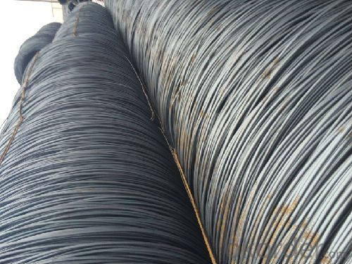Hot Rolled Low Carbon Steel Wire Rods for Nails, Steel Wire Mesh