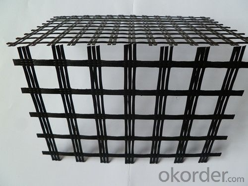 Polyester Geogrid/PP Geogrid/ Fiberglass Geogrid