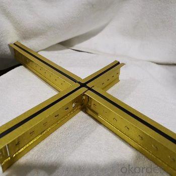 Suspension Ceiling Tee Grid -Plane Tee Grid
