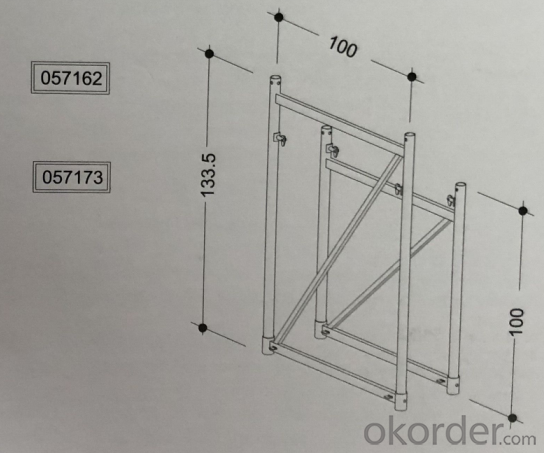 GHI D15 formwork shoring system steel prop