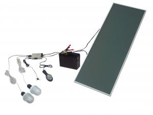 TPS-20515W Solar  LED DC Lighting Kit