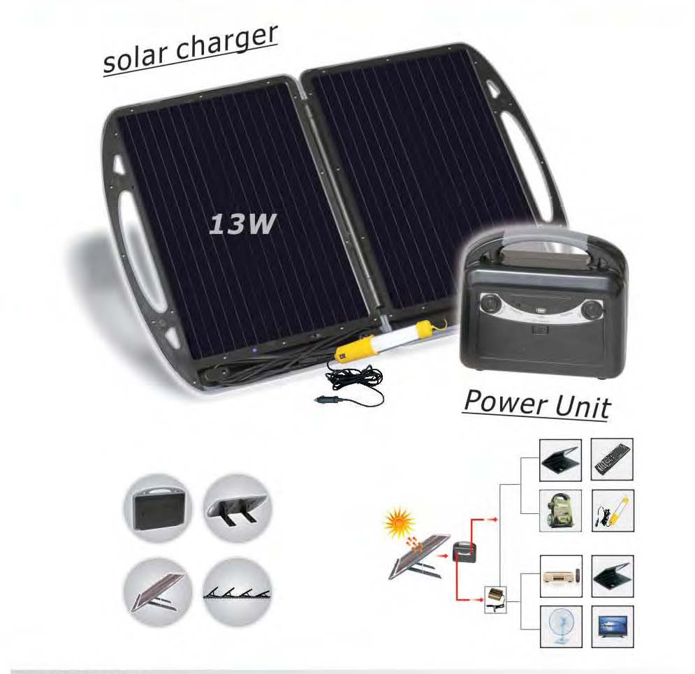 Solar Portable Power kit (TPS-218)