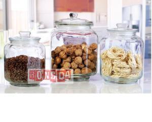 Glass Storage Jar 9720