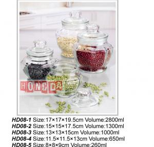 Glass Storage Jar HD08
