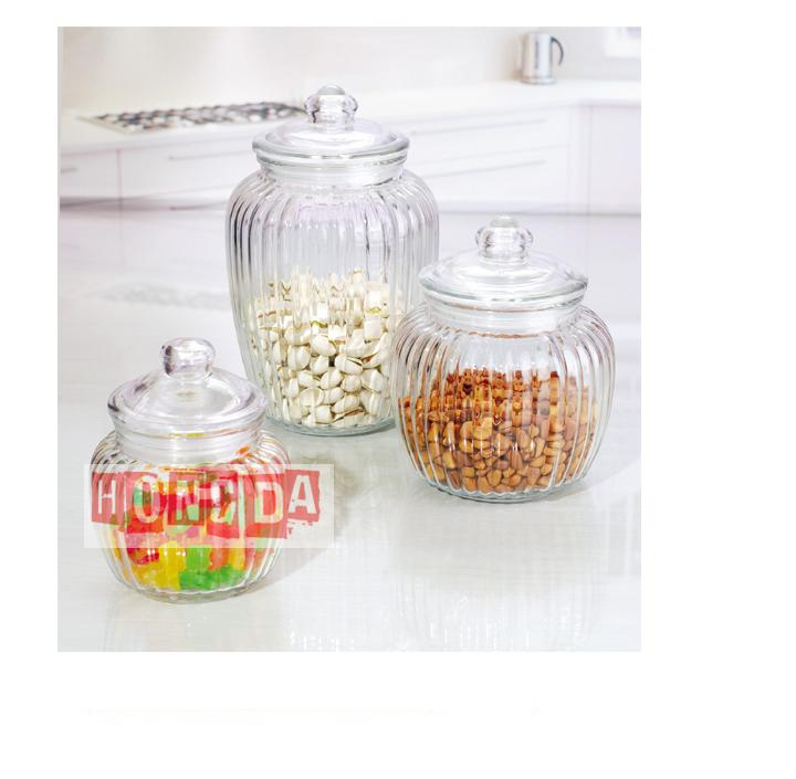 Glass Storage Jar 217