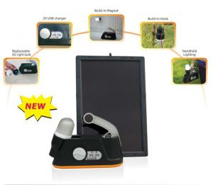 Solar Portable Power Kit 6W(TPS-201)