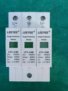 SURGE ARRESTER LY-C40/3P DC 1000V