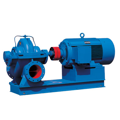SLOW series horizontal/vertical single stage split casing double suction pump