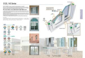 Fashionable PVC Fixed Window with the best price