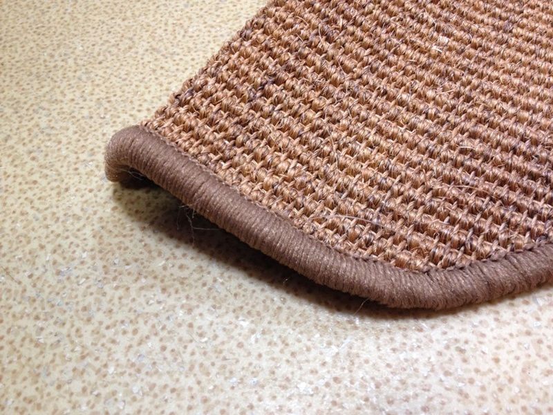 Natural Sisal Rug for Stair with Latex Back and Cheap Price Wholesale