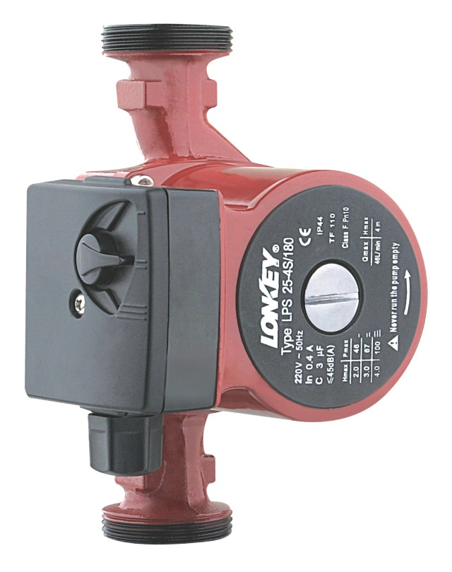 Grundfos Type Hot Water Circulation Pump, 3-Speed Heat Pump