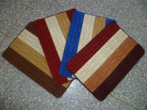 Blue Red Black Brown Color PP Door Mat