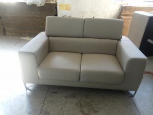 Living room genuine leather sofa set 8018