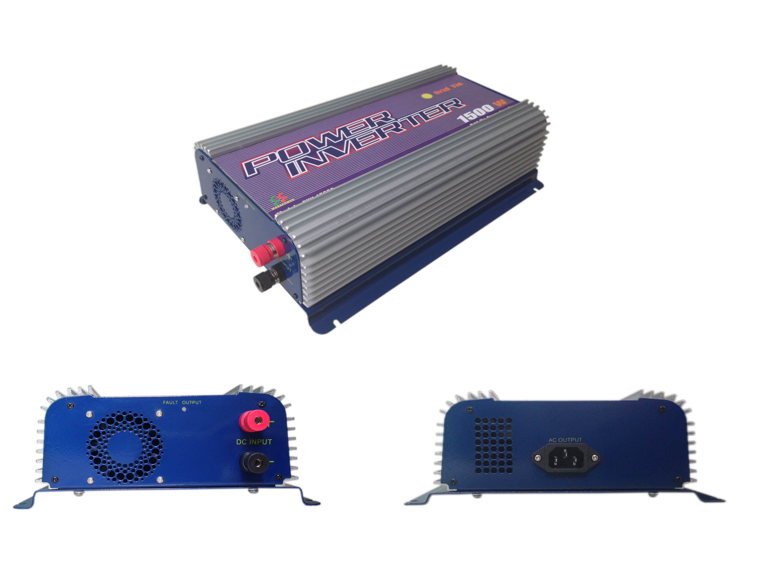 SUN-1500G Solar Grid Tie Inverter/1500w Grid Connected Inverter