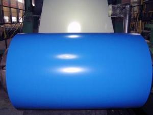 Pre-Painted Galvanized Steel Coil--Blue Color