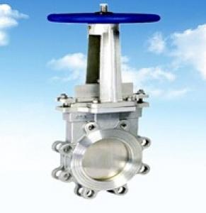 Knife Gate Valve With Gear Operator