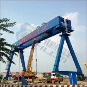 Ship yard gantry crane 01