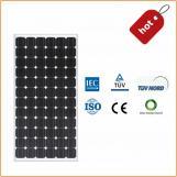 Panel Solar PV Mono 320W con Certificado TUV