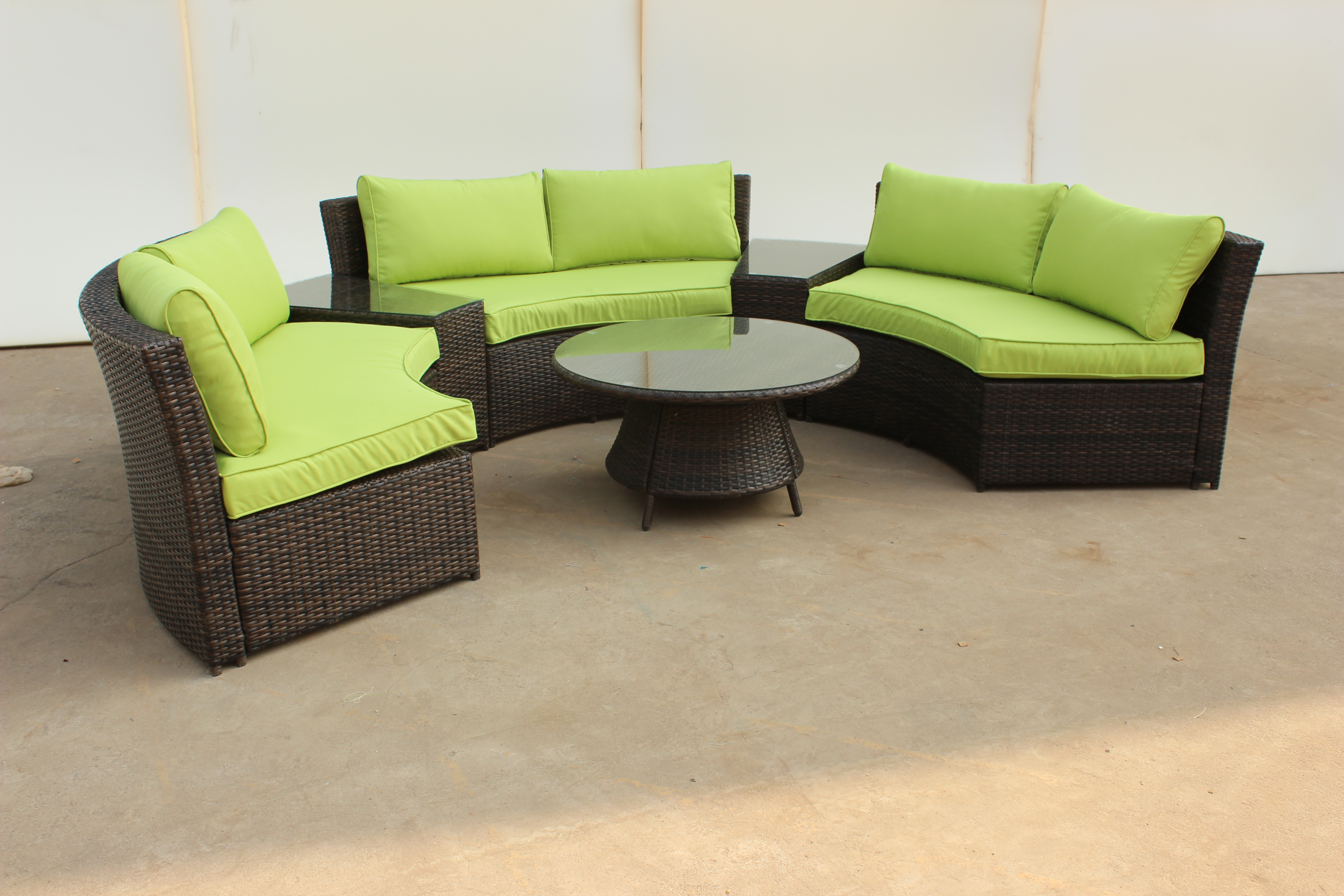 Popular Outdoor Rattan Sofa set for garden high quality and reasonable price