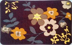 Latex Back Polyester Floor Mat