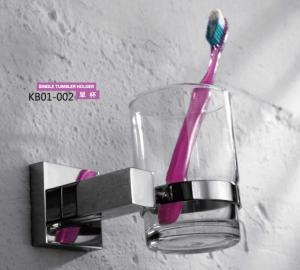 Brass Bathroom Accessories- Single Tumbler Holder KB01-002