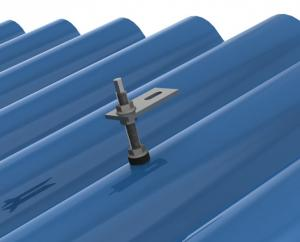 solar mounting Metal Sheet Roof System