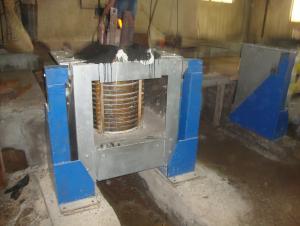 steel induction furnace induction melting furnace