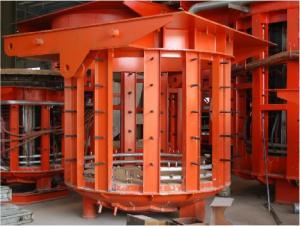 50T scrap metal melting furnaces