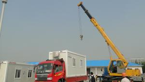 Prefabricated Steel Structure Containers Home 002 With Good Quality
