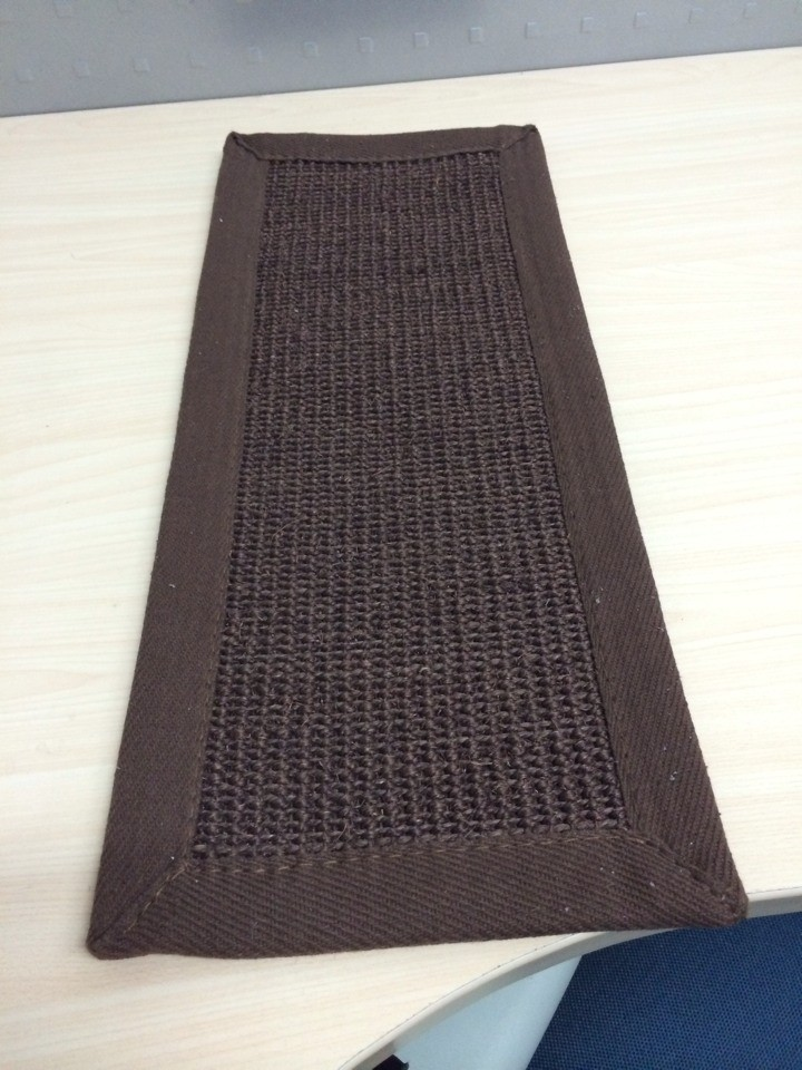 Natural Sisal Mat with Cheap Price Latex Back