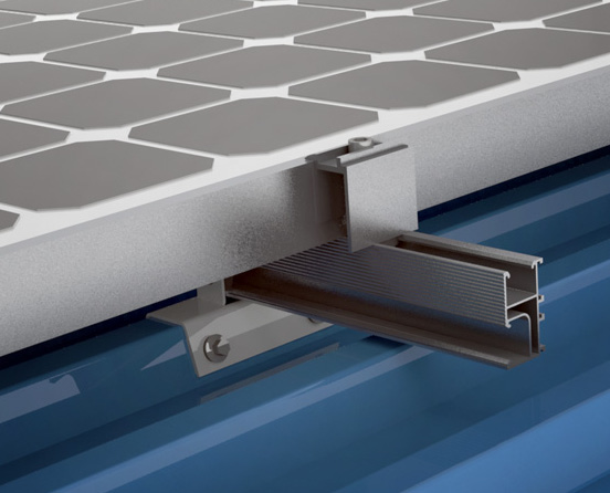 solar mounting-Metal Sheet Roof System