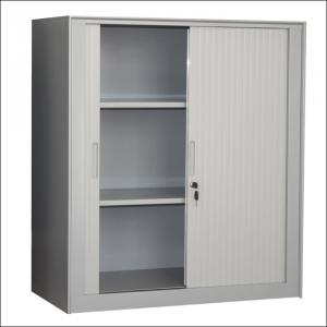 Half Height Tambour Door Cabinet
