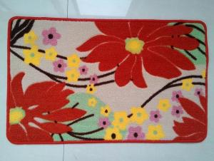 100% Polyester Printed Mat New Design