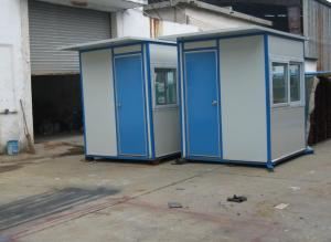 Prefabricated Steel Structure Sentry Box With Good Price and Good Quality