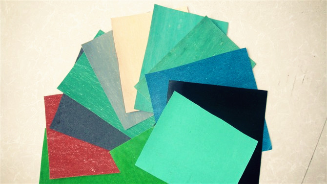Gasket fibre rubber jointing sheet