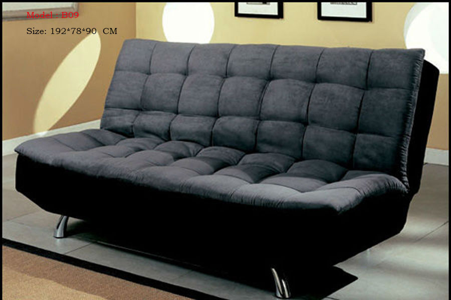 Fabric materials 3 seater sofa bed  519