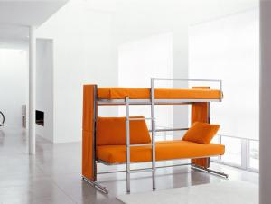 Double sofa bed , fabric sofa manufacturer S515
