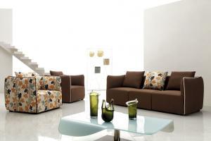 Modern fashion Chinese leather sofa Heat insulation