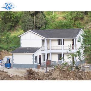 Cheap modern easy install prefab villa