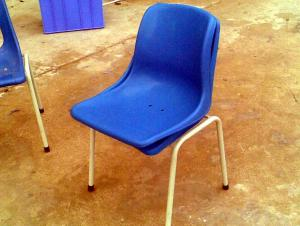 Modern Elegant Cheap Steel Plastic Chair