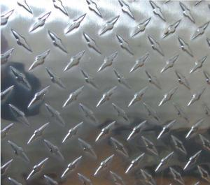 Diamond aluminium sheet
