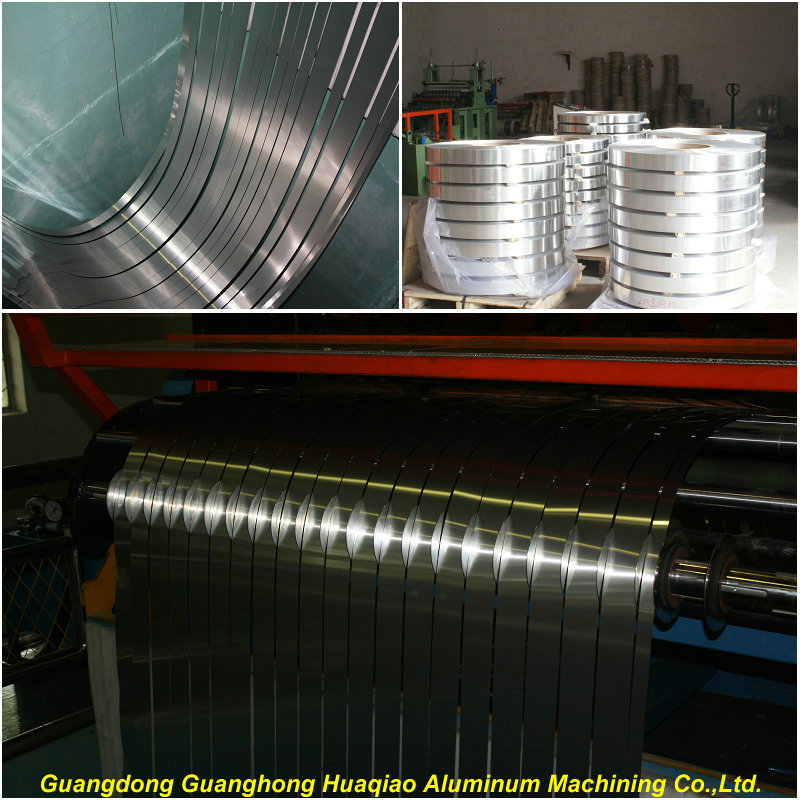 Aluminum slitting roll strips