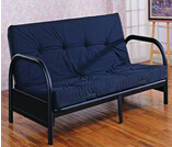 Metal Futon Sofa Bed for Sale Modern Design CMAX-SF04