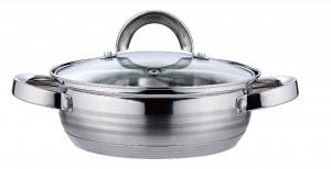 Wide Edge Series Stainless Steel Cookware