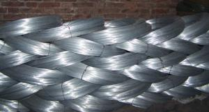 Galvanized Wire with Diameters 0.3 to 4mm