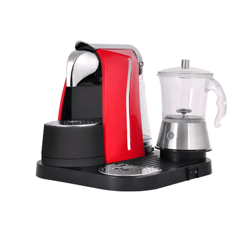 LM Machine with Milk Frother for home or office  with best price