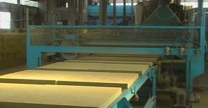 Rockwool production line